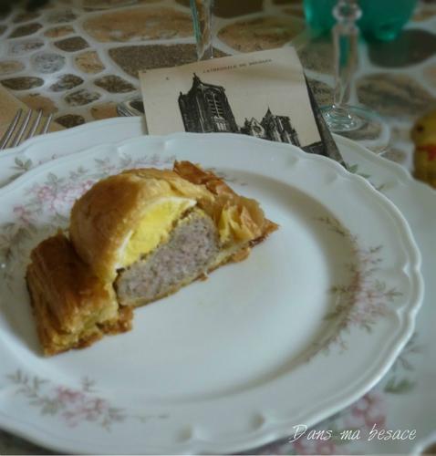 Dansmabesace - Pâté de Pâques berrichon