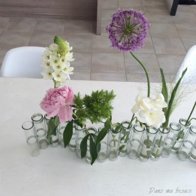 DansmaBesace - Vase d'avril - fleurs de printemps
