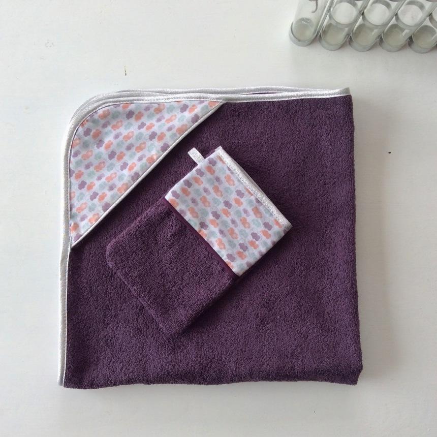 dansmabesace-cape-de-bain-nuages-violet-et-argent-2