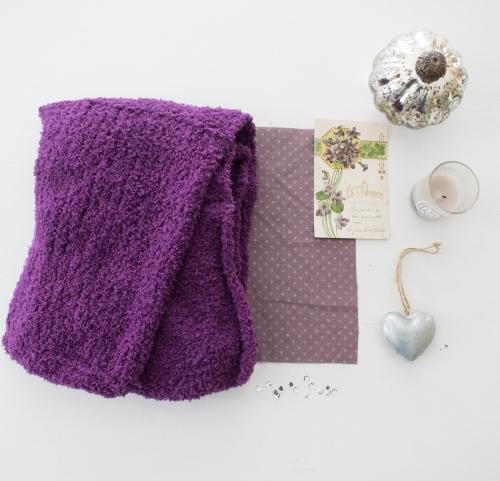 dansmabesace-echarpe-violette