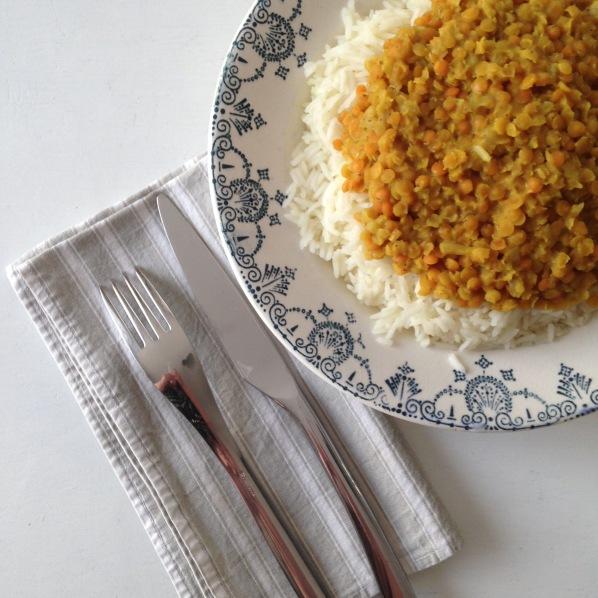 Dansmabesace - Bliss - Food - Dahl lentilles corail et lait de coco