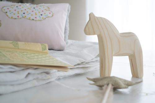 Dansmabesace - Cheval en bois