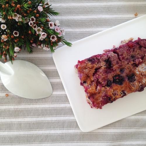 Dansmabesace - Fodd - Clafoutis aux fruits rouges