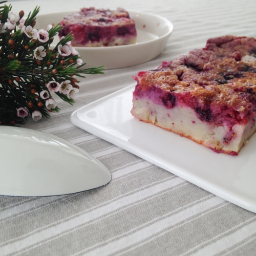 Dansmabesace - Food - Clafoutis aux fruits rouges 2