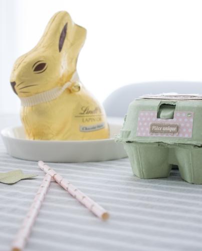 Dansmabesace - Premières Pâques - Lapin et boite à oeufs