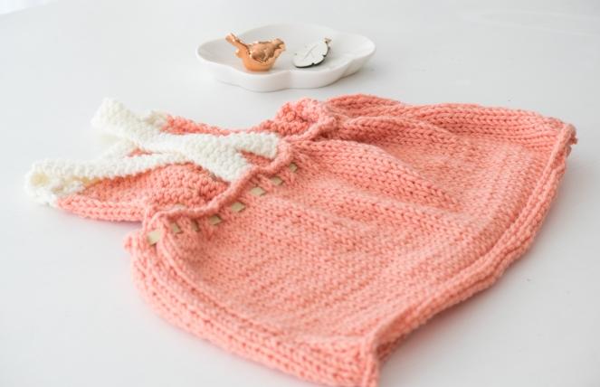 Dansmabesace - Summer dress - Dos robe partner6 saumon écru.jpg