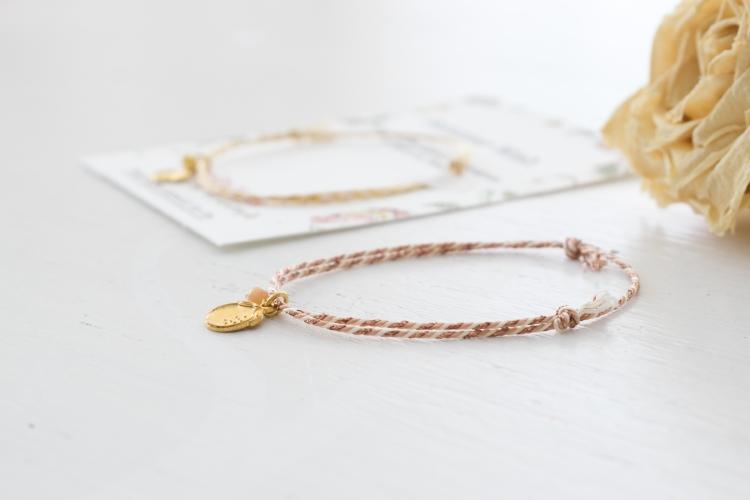 Dansmabesace - Summer dress - Zoom bracelet nude cuivré bylagirafe.jpg