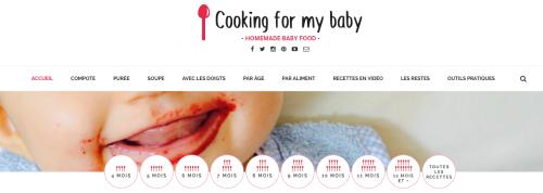 Dansmabesace - Favoris maman:bébé juin - Cooking for my baby