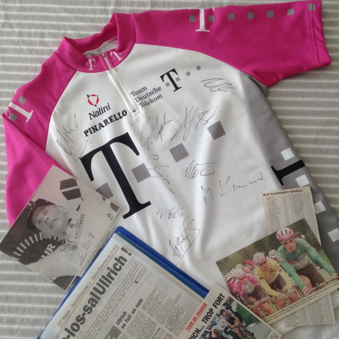 Dansmabesace - le Tour de France - Equipe Telekom 97