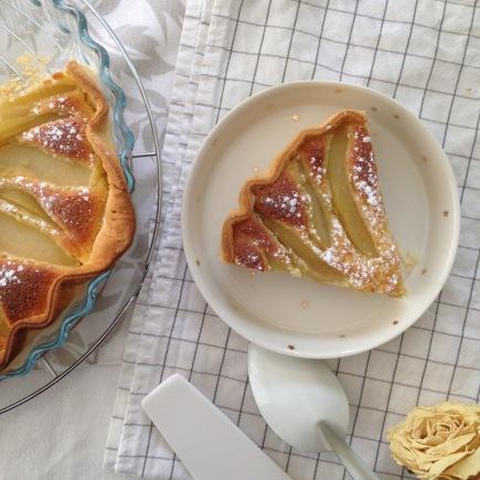 Dansmabesace - Slowlife - Food - Tarte amandine aux poires2