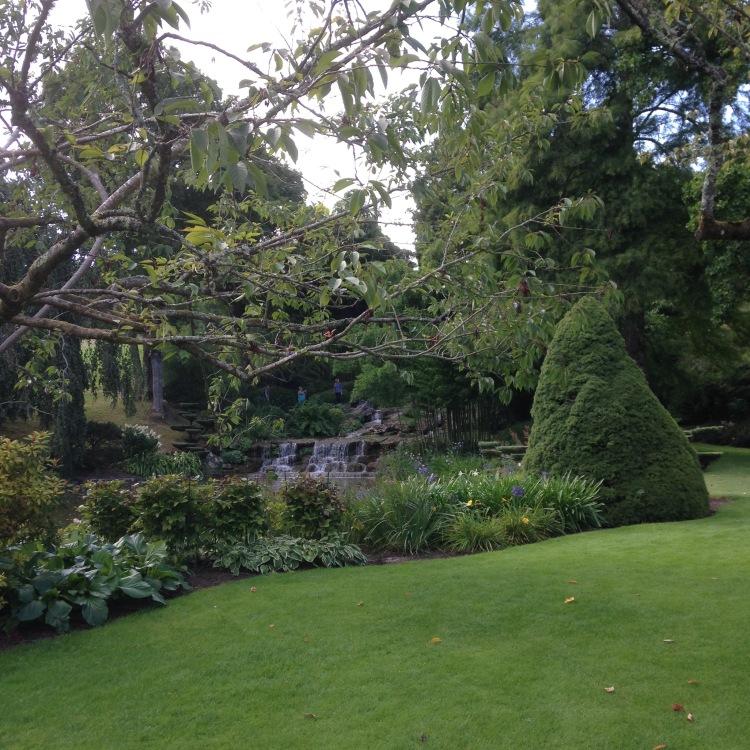 Dansmabesace - Slowlife - Parc floral Apremont sur allier - Cascades et végétation japonisante