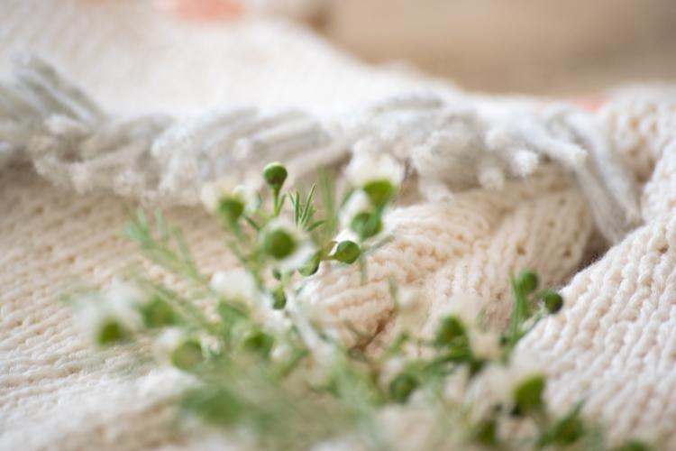 Dansmabesace - Tricot - Pull raglan à franges - Détails franges