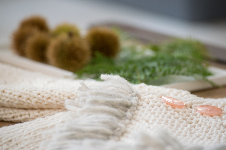 Dansmabesace - Tricot - Pull raglan à franges - Franges