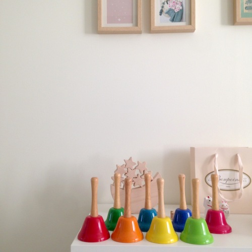 Dansmabesace - DIY - Partitions pour cloches Montessori