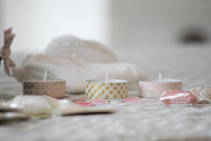Dansmabesace - Anniversaire de Rose - Cadeaux invités - Lumignons Fête des lumières