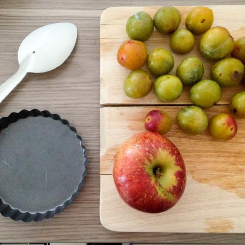 Dansmabesace - Slowlife - Kids mum - Diversification alimentaire - Tarte pomme prunes