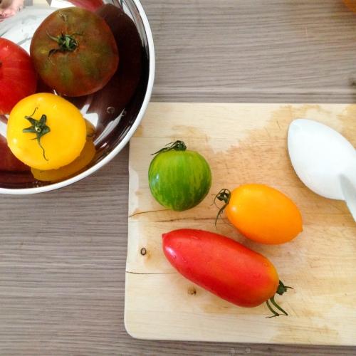Dansmabesace - Slowlife - Kids mum - Diversification alimentaire - Tomates anciennes