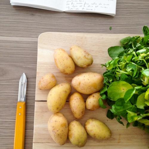 Dansmabesace - Slowlife - Kids mum - Diversification alimentaire - Velouté cresson pomme de terre