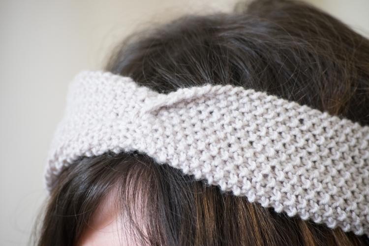 Dansmabesace - Tricot - Partenariat Phildar x Dansmabesace - Zoom twist Headband