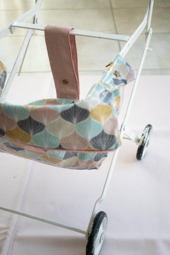 Dansmabesace - Couture - Poussette vintage - Details attache etoile