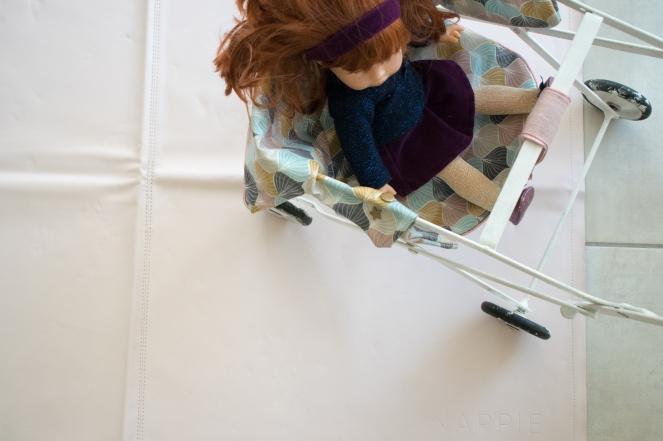 Dansmabesace - Couture - Poussette vintage - Poussette et tapis Nappie