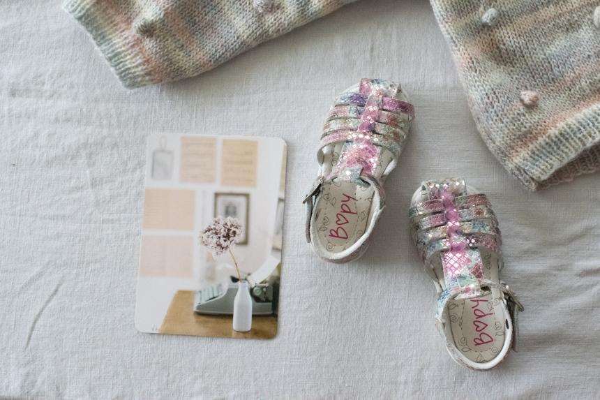 Dansmabesace - Slowlife - Tricot - Baby look sirene - Pull pop corn pastel et bloomer rose faits maison - Sandalettes Bopy