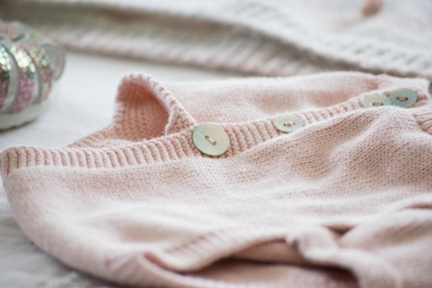 Dansmabesace - Slowlife - Tricot - Baby look sirene - Pull pop corn pastel et bloomer rose faits maison - Zoom bloomer tricot