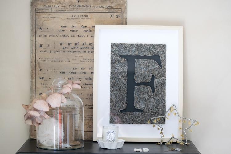 Dansmabesace - Paperolles - lettre F 2
