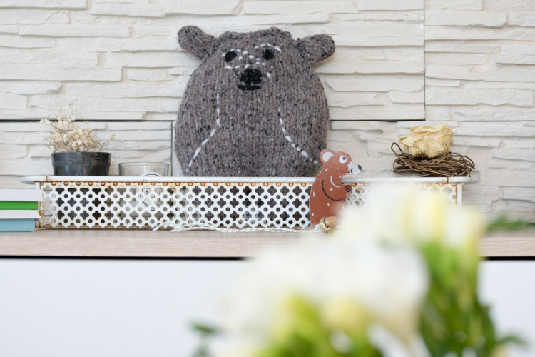 Dansmabesace - Tricot - Petit ours brun